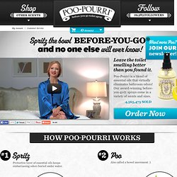 Girls Don't Poop – Poopourri.com | Poo~Pourri