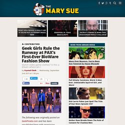 Geek Girls Rule the Runway at PAX's First-Ever BioWare Fashion Show