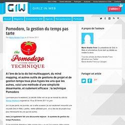 Pomodoro, la gestion du temps pas tarte
