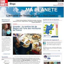 Gironde : la cantine bio de Bègles est l'une des meilleures de France