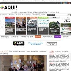 Sud Gironde: Premier Salon de la Silver Economie en ruralité - 02/10/16