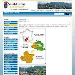 Ville de Saint-Girons (09200) - Site officiel - Géographie