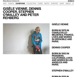 Gisèle Vienne, Dennis Cooper, Stephen O'Malley and Peter Rehberg