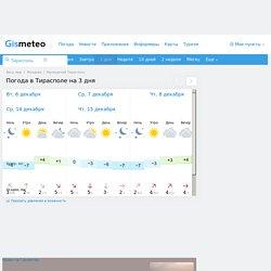 GISMETEO: Погода в Тирасполе на 3 дня. Прогноз погоды на 3 дня по пункту Тирасполь, Муниципий Тирасполь, Молдова