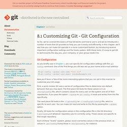 Git Configuration