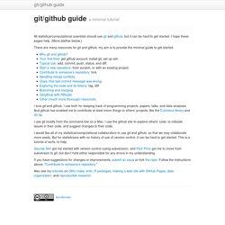 git/github guide