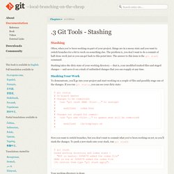 Git - Stashing