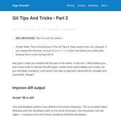 Git tips and tricks - Part 2