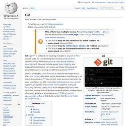 Git - Wikipedia