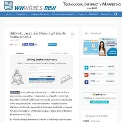 GitBook, para crear libros digitales de forma sencilla