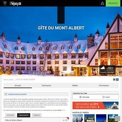 Gîte du Mont-Albert