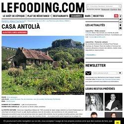 Gîte Casa Antolià à Les Planches-prés-Arbois