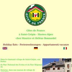 Gites de France à Saint Crépin