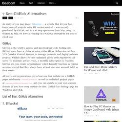 GitHub Alternative: Top 7 Best Source Code Hosting Sites
