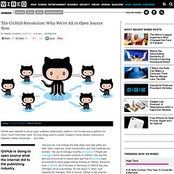 The GitHub Revolution: We're All in Open Source Now | Wired Opinion