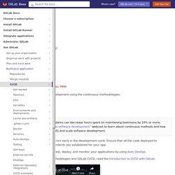 GitLab CI/CD