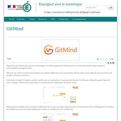 GitMind - Enseigner avec le numérique