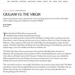 Giuliani vs. the Virgin
