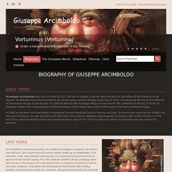 Giuseppe Arcimboldo - The Complete Works - Biography - giuseppe-arcimboldo.org