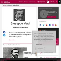 Giuseppe Verdi - France Musique