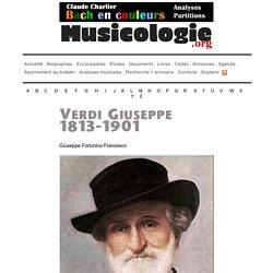 Portrait de Giuseppe Verdi (1913-1901) - musicologie.org