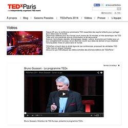 Bruno Giussani : le programme TEDx