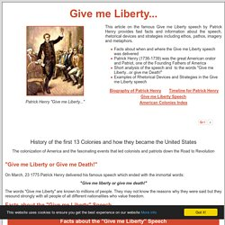 speech analysis freedom or death The speech was delivered by sir patrick henry who primarily sought the freedom of the state he governed give me liberty or give me death.