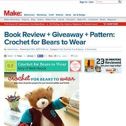 Crochet Jacket For Bears To Wear