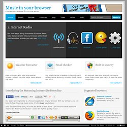 FREE GIVEAWAY: Web Radio | Chart music | 12,000+ Games | 13,000+ Apps