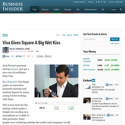 Visa Gives Square A Big Wet Kiss