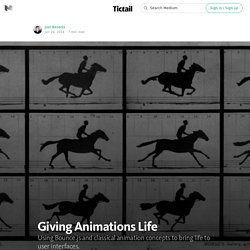 Giving Animations Life — Tictail — Behind the Scenes