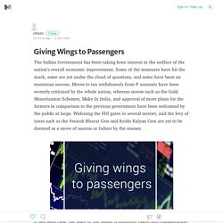Giving Wings to Passengers