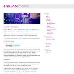 software → arduino ethernet
