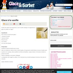 GLACE VANILLE