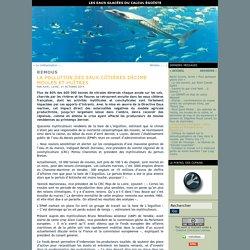 EAUX GLACEES 21/10/14 La pollution des eaux côtières décime moules et huîtres