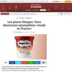 Les glaces Häagen-Dazs désormais estampillées «made in France»