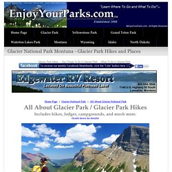Hikes in Glacier National Park - Glacier Park Hiking Trails