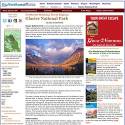 Glacier National Park Travel Guide and Directory.