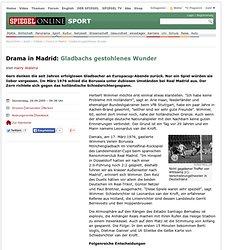 Drama in Madrid: Gladbachs gestohlenes Wunder