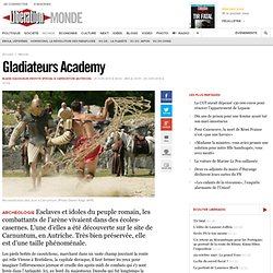 Gladiateurs Academy