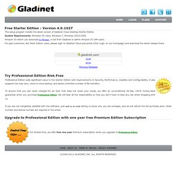 Download Gladinet Cloud Suite