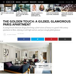 Glamorous Paris Apartment - Champeau Wilde Design