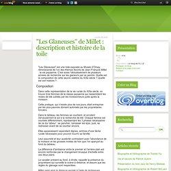 """""""Les Glaneuses"""" de Millet : Informations sur la tableau"""