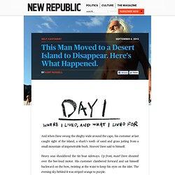 Dave Glasheen: The Lost Boy of Restoration Island