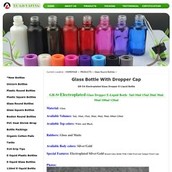 Glass Bottle with Dropper Cap Online
