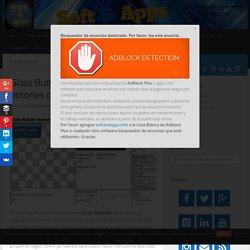 Glass Button Generator: crea botones con un par de clics