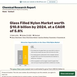 Glass Filled Nylon Market worth $10.8 billion by 2024, at a CAGR of 5.8%