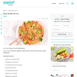 Glass Noodle Stir Fry Recipe