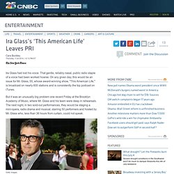Ira Glass's 'This American Life' Leaves PRI