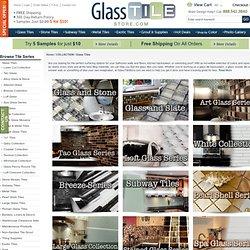 Glass Tiles for Backsplash